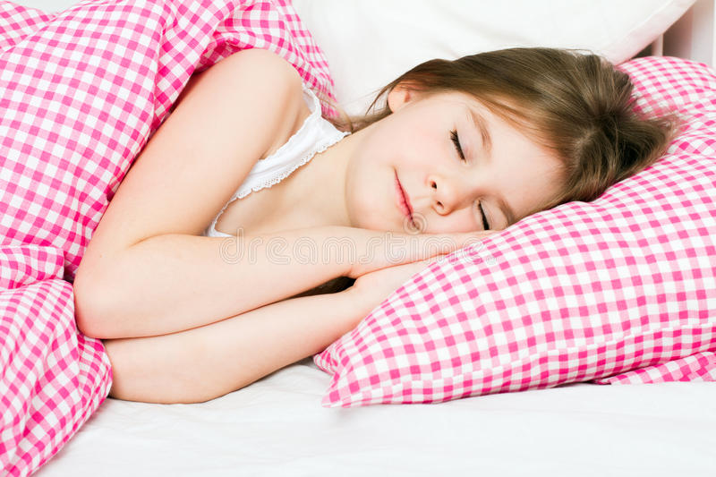 Download Little girl sleeping stock photo. Image of portrait, resting - 31958680