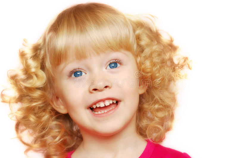 Download Little girl smile stock photo. Image of beautiful, life - 13397082