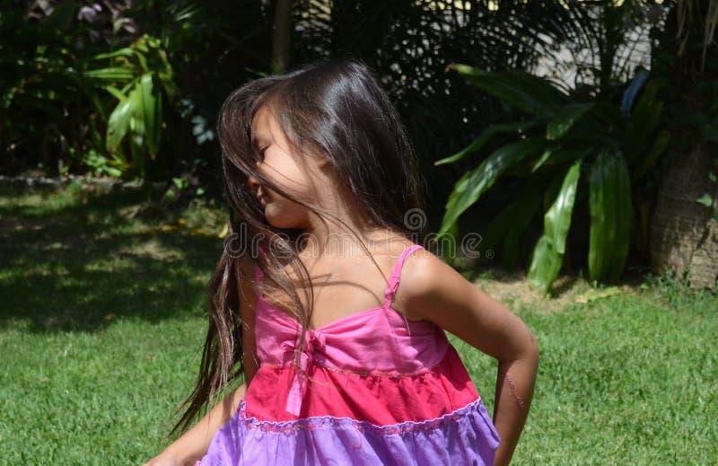 little girl spinning stock images