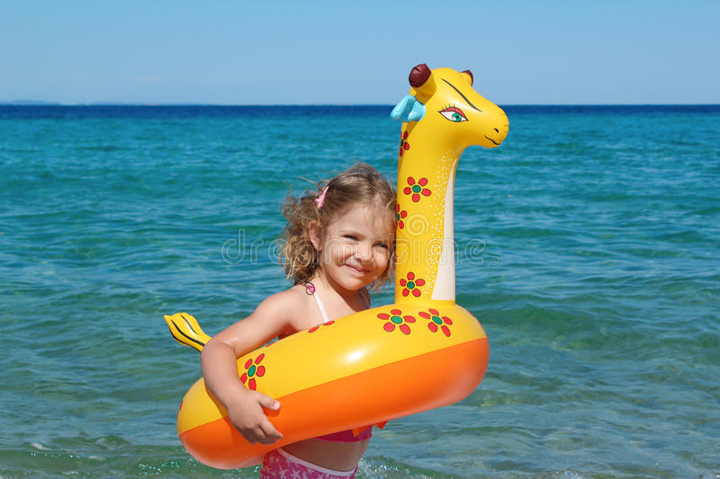 Download Little girl on vacation stock photo. Image of caucasian - 20409308