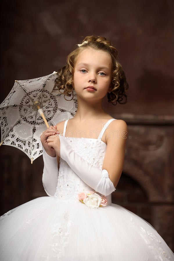 little girl wedding dresses in wedding dress royalty free stock photos 5559