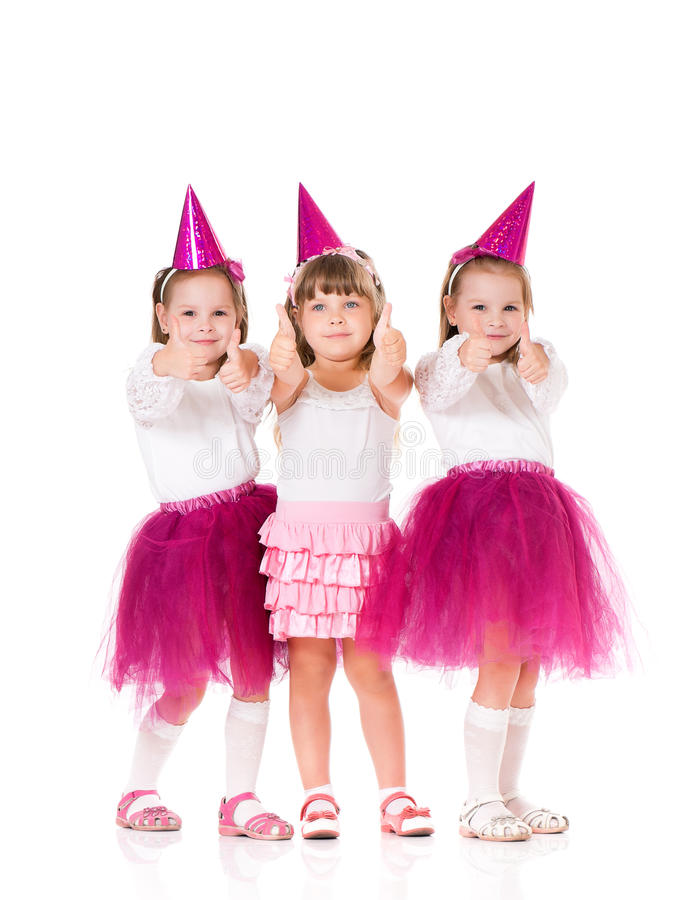 Little girls stock photography