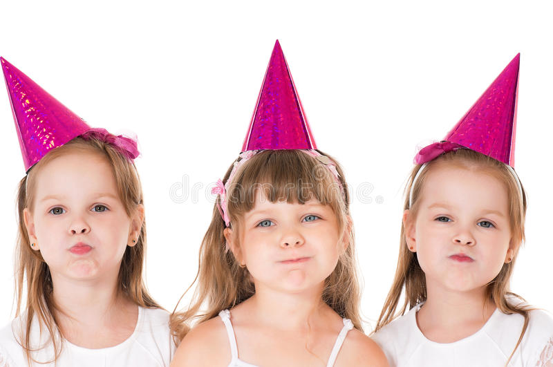 Little girls stock images