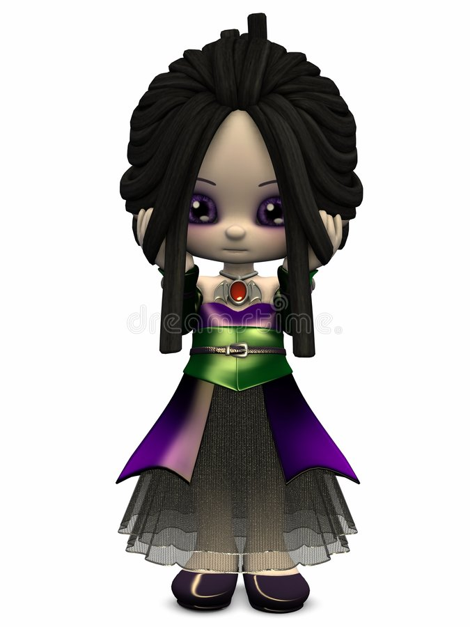 Little Gothica-Toon Figure