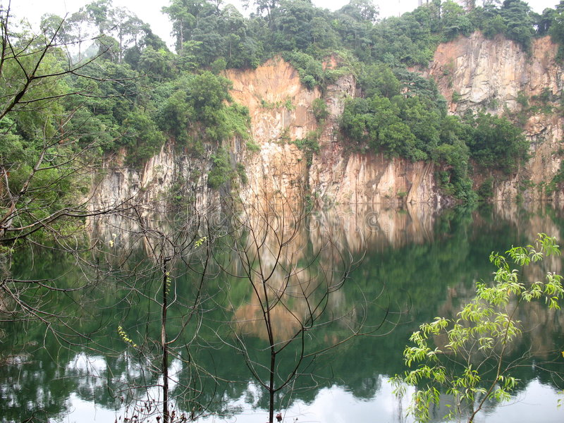 Download Little Guilin stock photo. Image of quarry, nature, chinese - 6151098