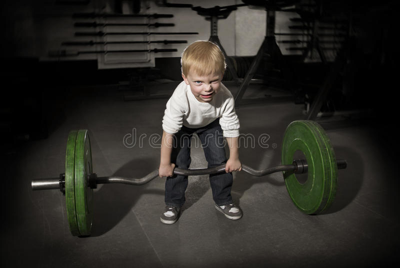 Little Tough Guy stock photography