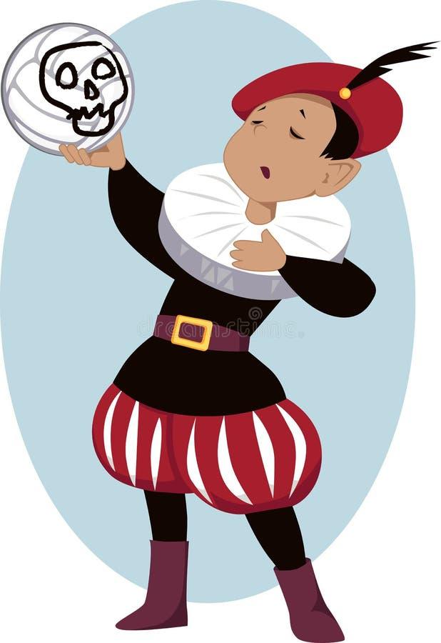 Little Hamlet stock illustration
