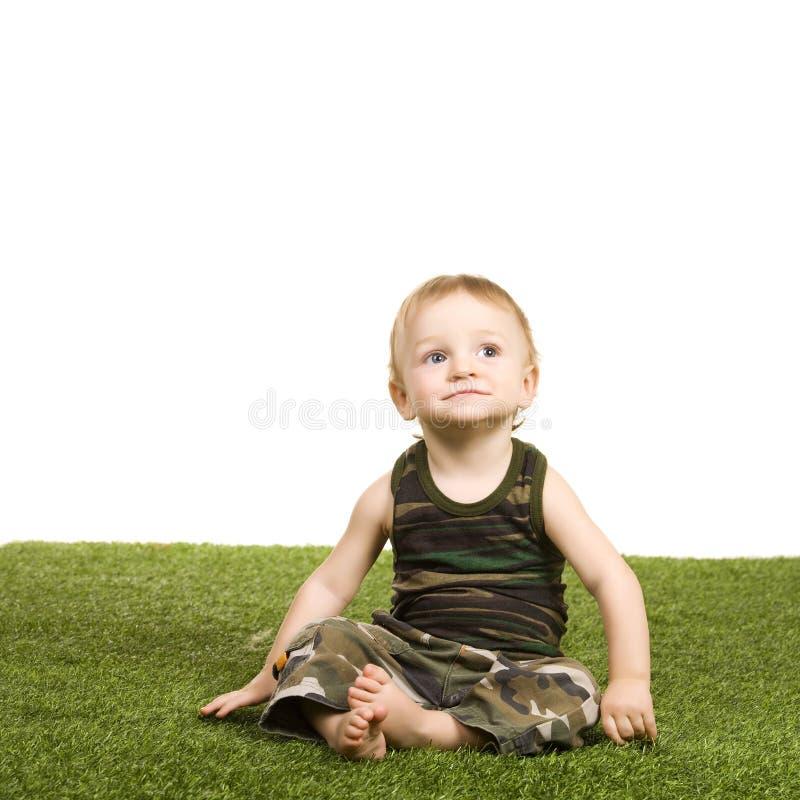 Little Happy Boy Royalty Free Stock Photos