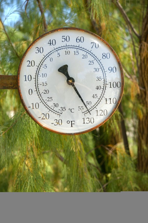 A Little Hot Today In Death Valley Stock Photo