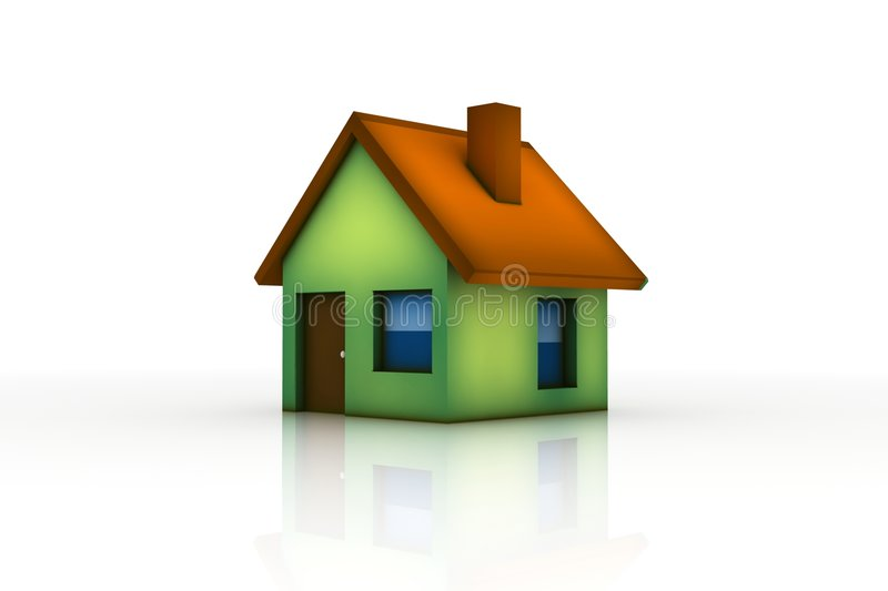 Download Little house stock illustration. Image of window, house - 8032325