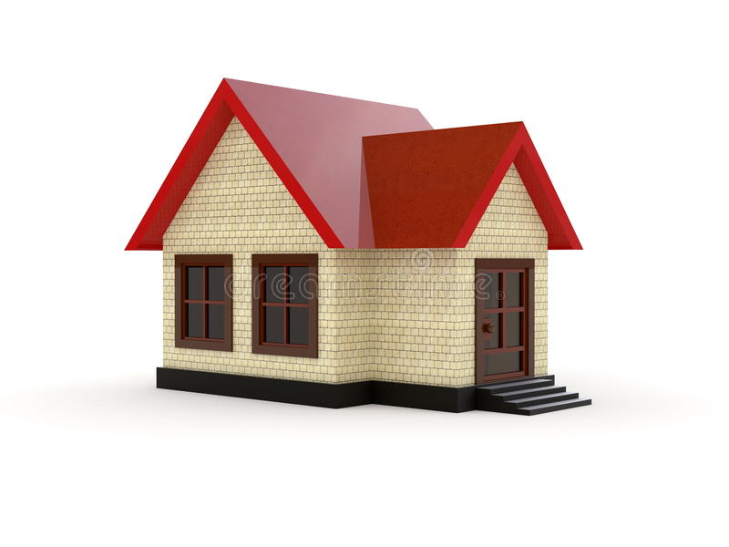 Download Little House (Day) stock illustration. Image of cottage - 11737250