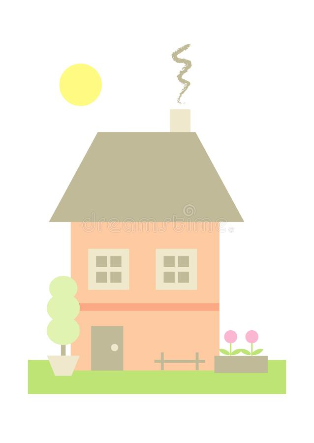 Little House (I) royalty free stock photo