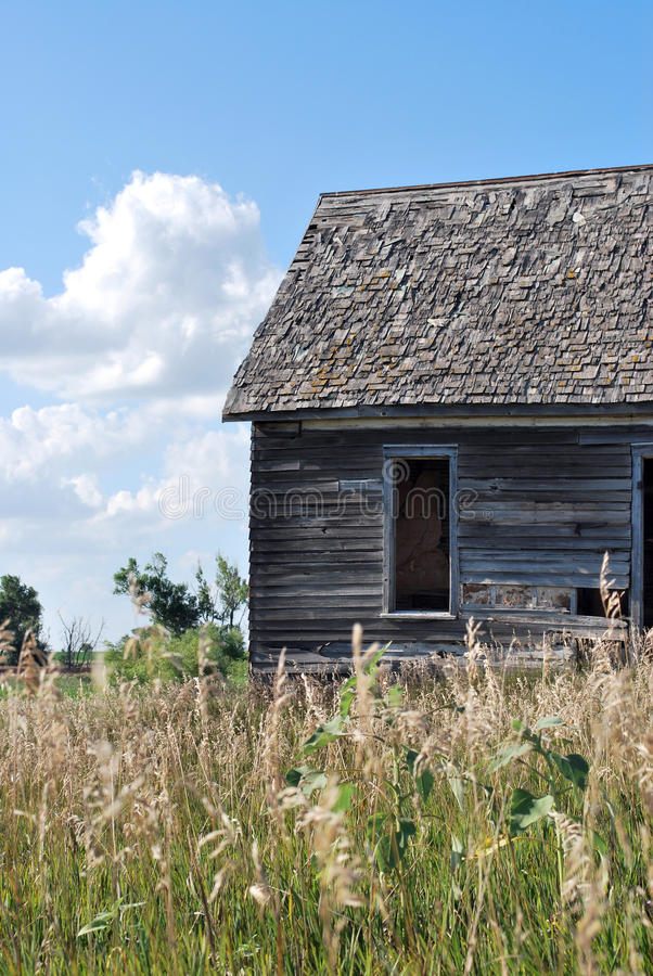 Download Little House On The Kansas Prairie Stock Image - Image of kansas, building: 16133041