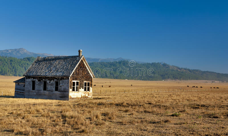 Little House on the Prairie royalty free stock photo