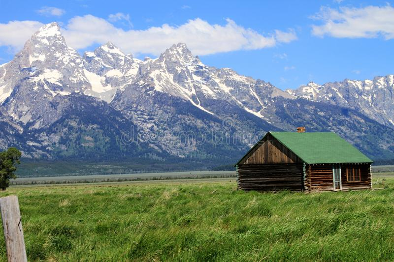 Little House On The Prarie stock image