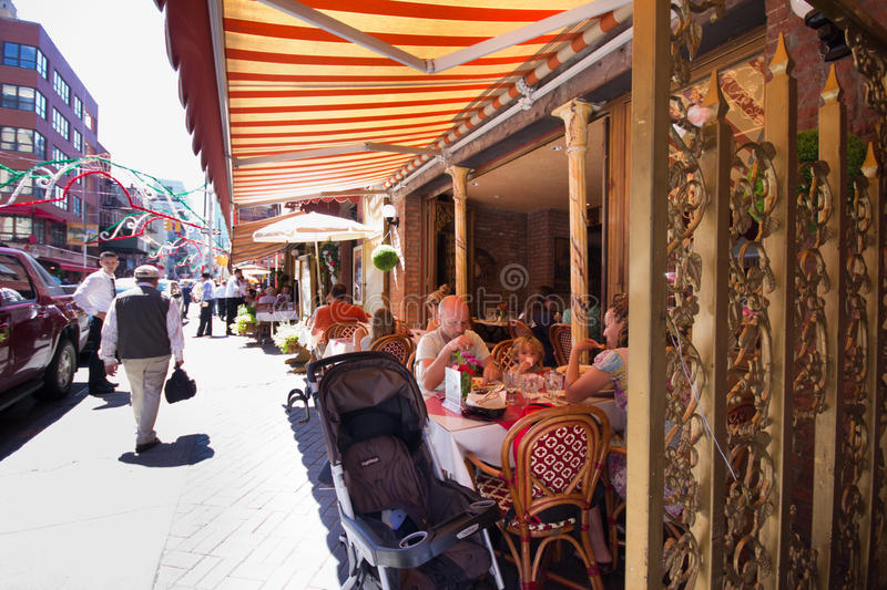 Download Little Italy NYC editorial image. Image of family, gennaro - 26936140