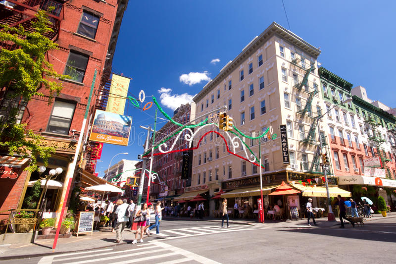 Download Little Italy NYC editorial stock photo. Image of manhattan - 28359118