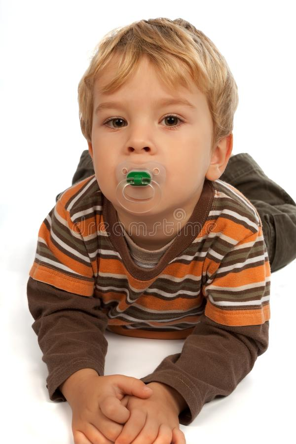 Download Little Kid With Dummy Stock Image - Image: 11787521