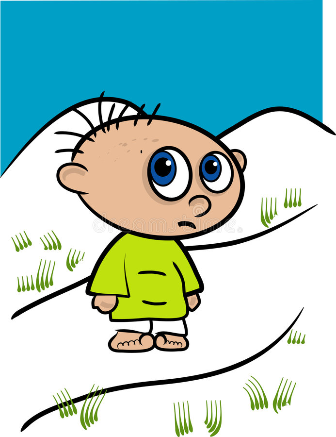 Download Little Kid Illustration stock illustration. Image of brood - 1945736
