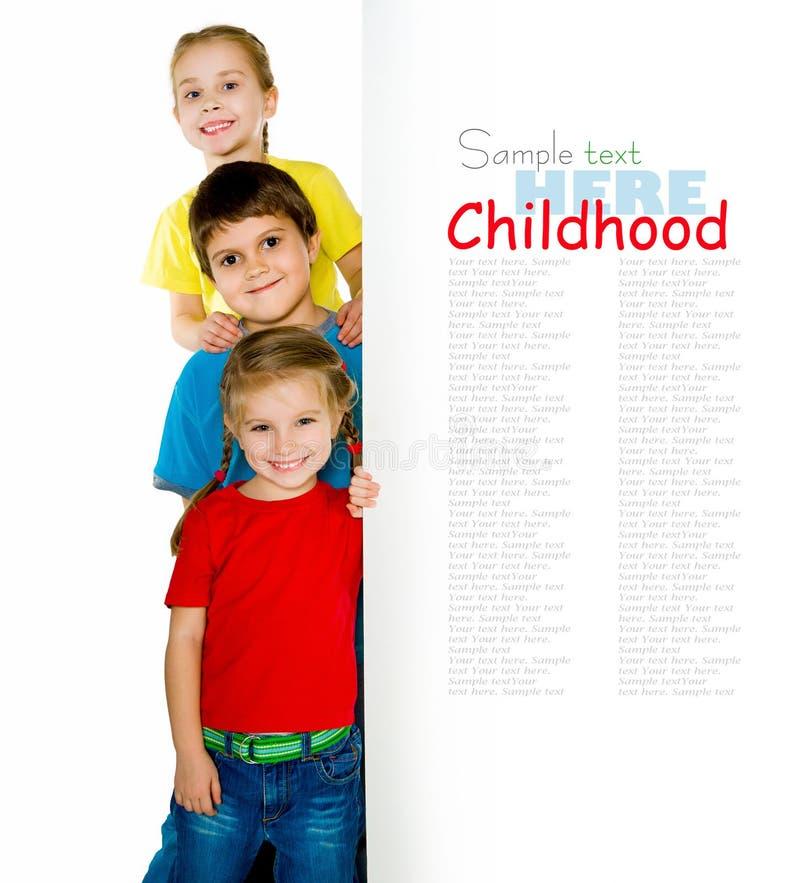 Little kids stock photo