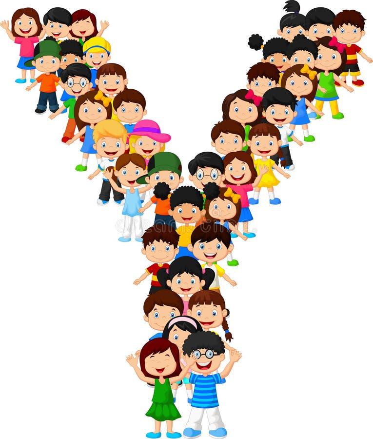 Free Little Kids Form Alphabet Y Royalty Free Stock Photos - 98485748