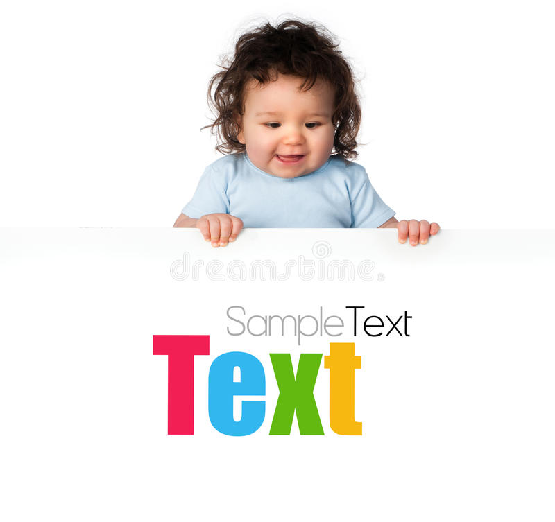 Download Little Kids Ower A White Background Stock Photo - Image: 25324438