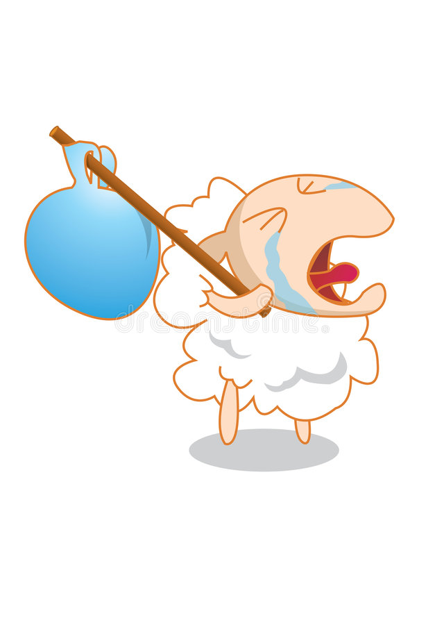 Little Lamb vector illustration