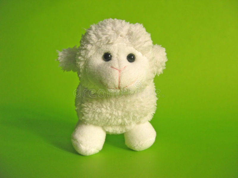 Download Little Lamb - Toy Royalty Free Stock Images - Image: 506749