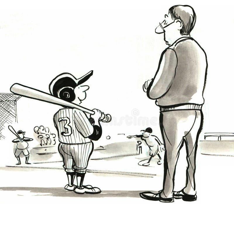 Little League stock illustration
