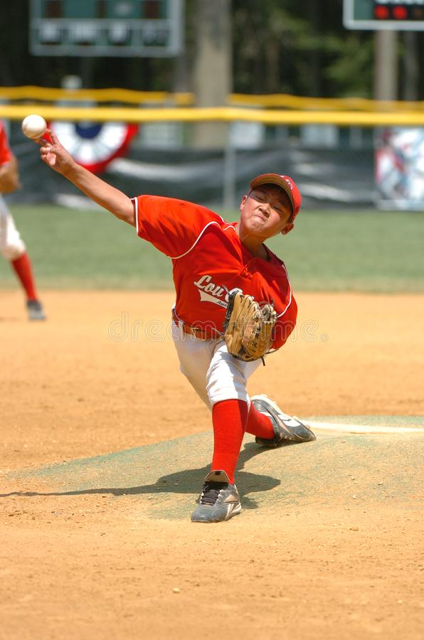 Little league Baseball. Little League Baseball game action being played in Central New Jersey in the East Coast of the United States stock images
