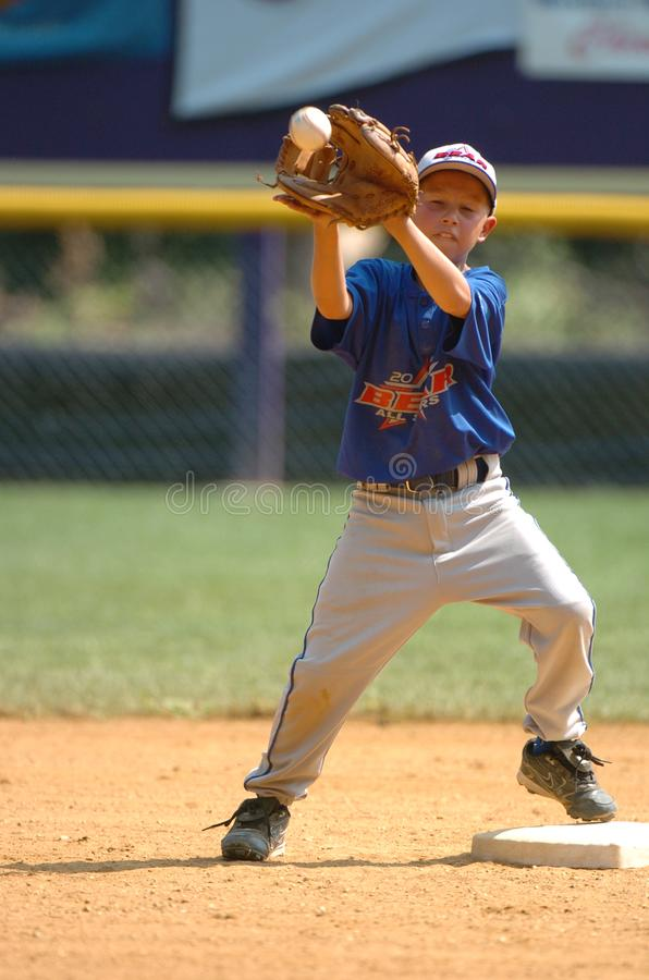 Little league Baseball. Little League Baseball game action being played in Central New Jersey in the East Coast of the United States stock photos