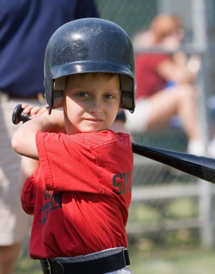Little League Baseball Player stock photo