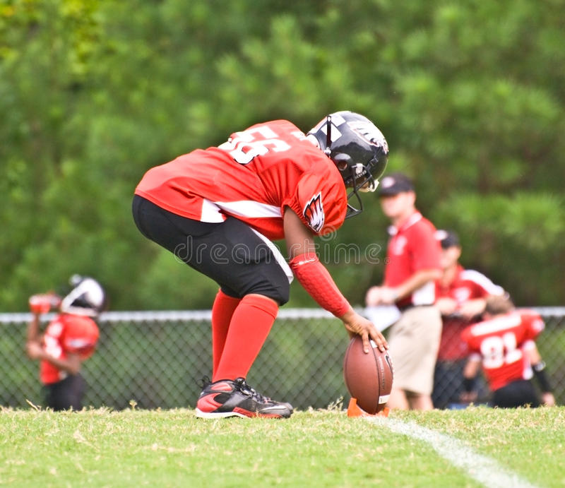 Download Little League Football / Kick Off Editorial Stock Image - Image: 10901424