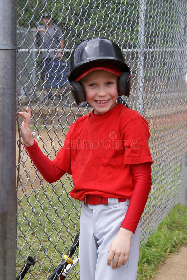 Little league player, stock photos