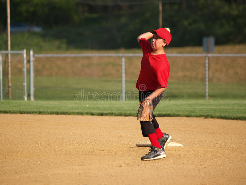Download Little League Second Baseman Stock Image - Image: 14164531