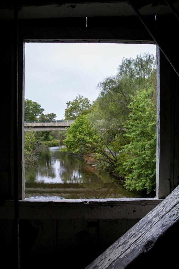 Little Lehigh River imagens de stock royalty free