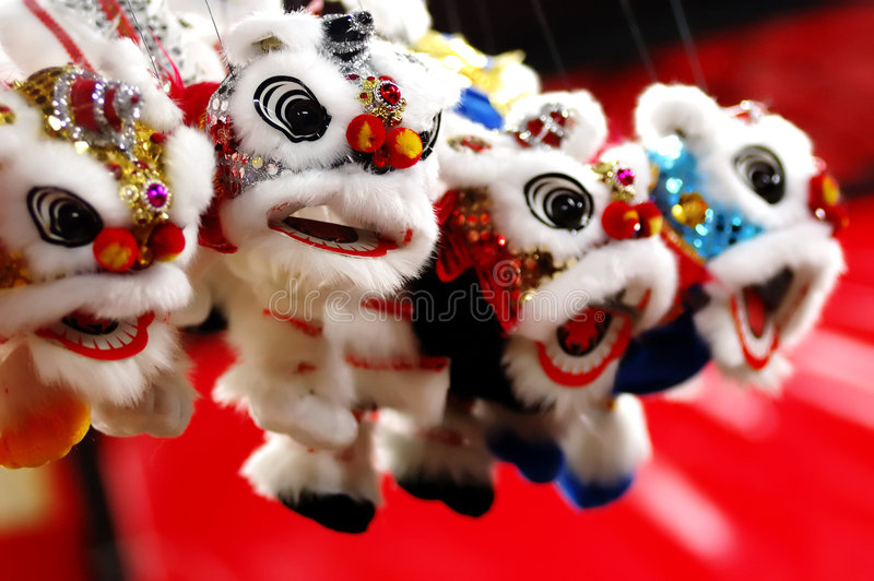 Download Little Lions stock image. Image of chinatown, celebration - 1912029
