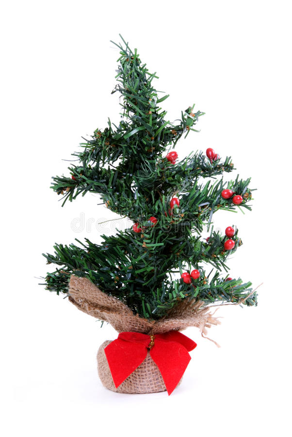 Free Little Lonely Artificial Christmas Tree Royalty Free Stock Photo - 11768095
