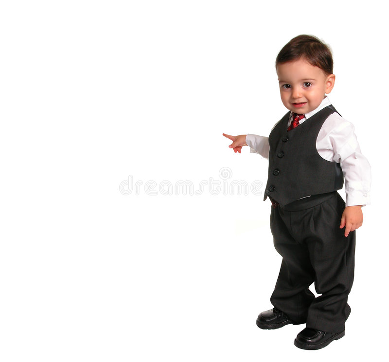 Download Little Man Series:  Pointing (2 Of 2) Stock Photo - Image: 27924
