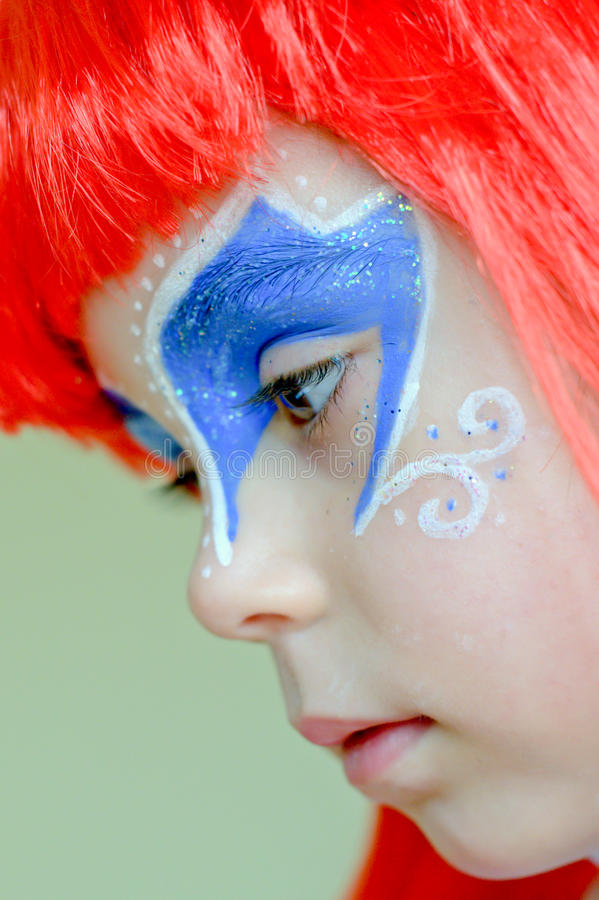 Download The Little Mermaid Ariel.Carnival. Royalty Free Stock Images - Image: 21565999
