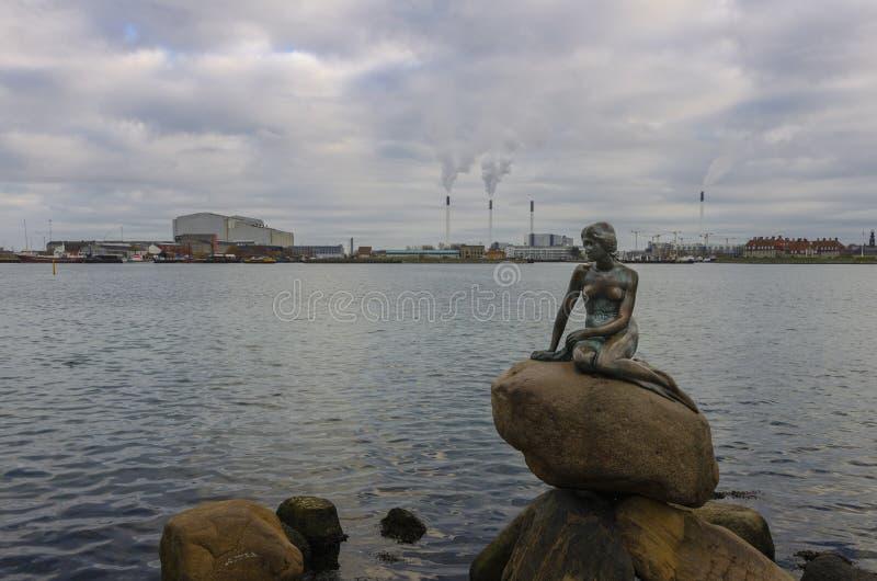 Little Mermaid Copenhagen royalty free stock image