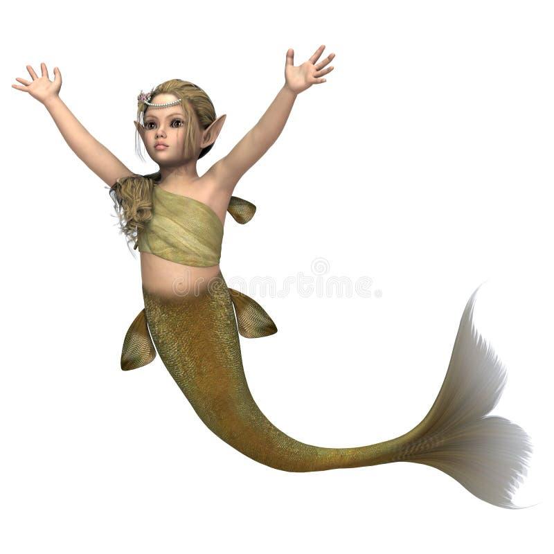 Little Mermaid Royalty Free Stock Photo