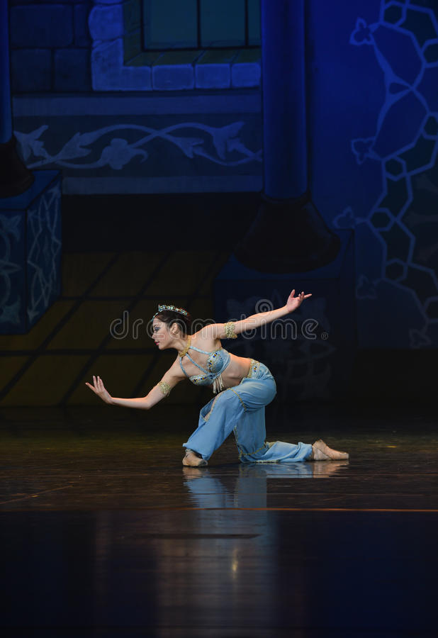 "The little mermaid pure- ballet ""One Thousand and One Nights"" stock photo"