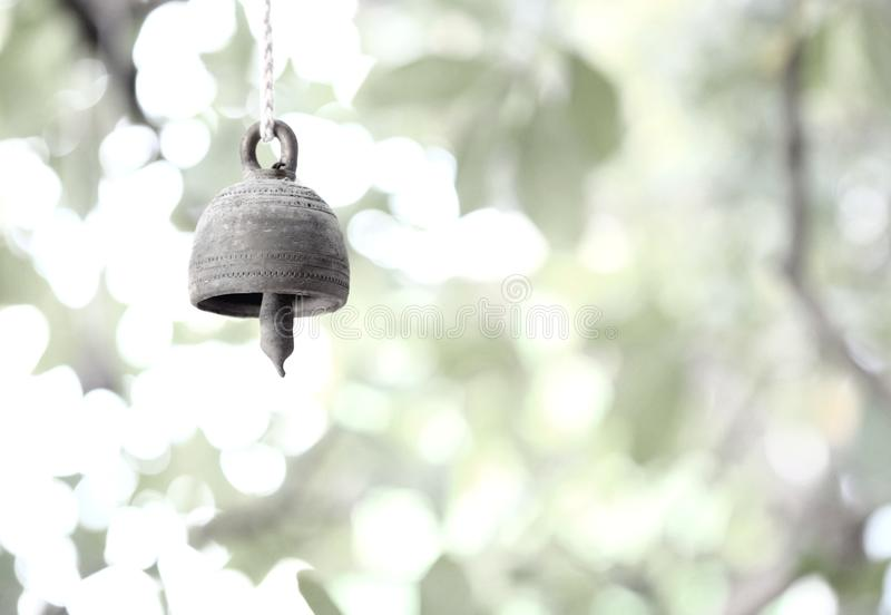 Little metal bell stock images