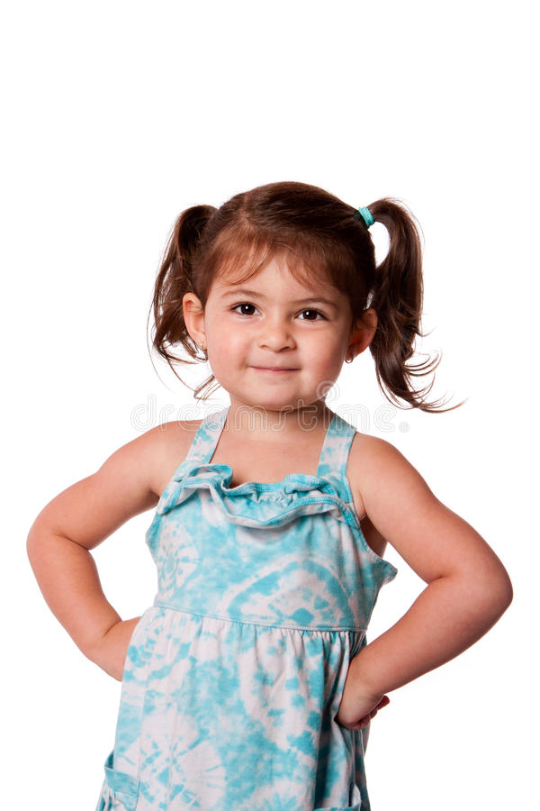 Download Little miss attitude stock photo. Image of young, dress - 25058522
