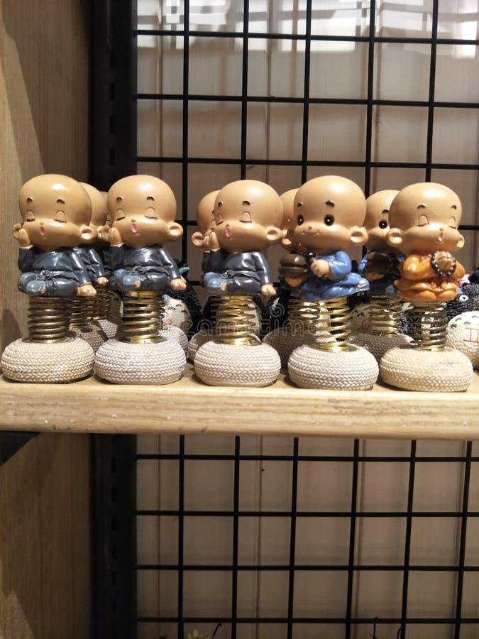 Little monk stock photos