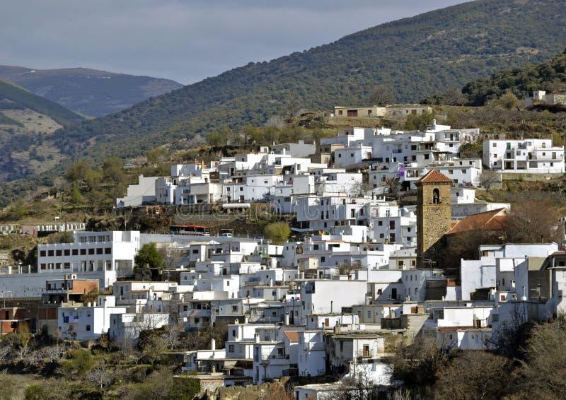 Download Little Moorish Village In The Alpujarra Stock Image - Image of terrace, home: 25989281