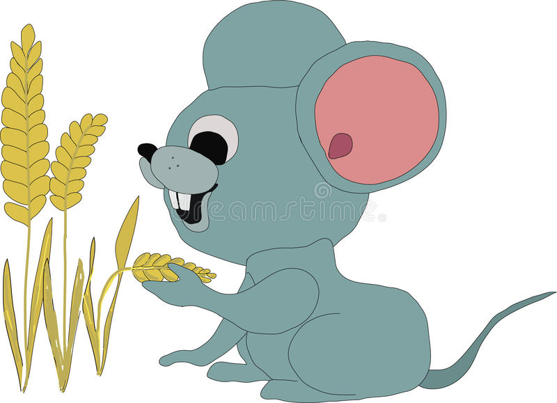 Little mouse royalty free stock photo