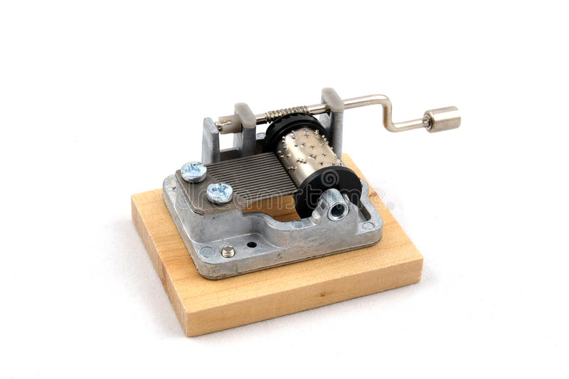The little music box royalty free stock photography