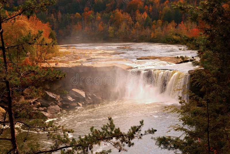 Little Niagara royalty free stock images